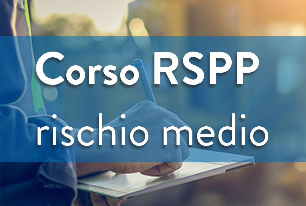 Formazione sicurezza Datori di lavoro – RSPP Rischio medio